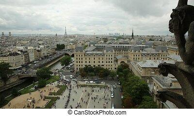 Notre Dame Panoramic skyline