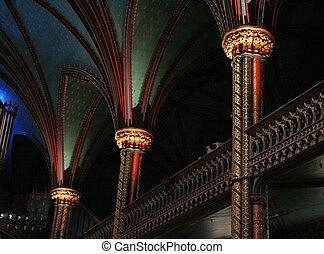 Notre Dame Pillars