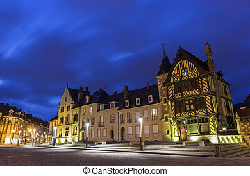 View on Amiens in France