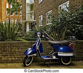 notting, sparkcykel, london, kulle