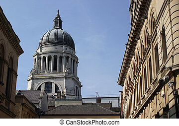 Nottingham Town Hall - The Dome of Nottingham City Hall