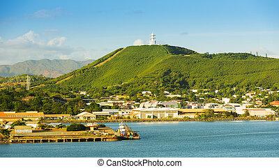 Noumea New Caledonia - Noumea, capital of New Caledonia view...