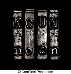 Noun word