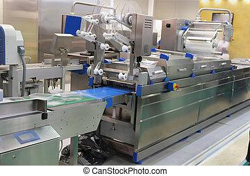 nourriture, équipement, emballage, industrie