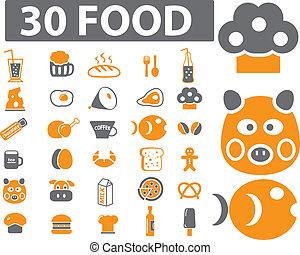 nourriture, 30, signes