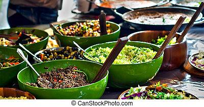 nourriture, africaine