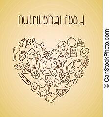 nourriture, alimentaire