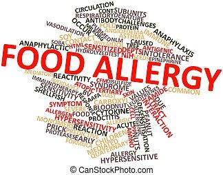nourriture, allergie