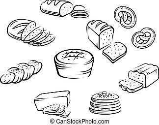 nourriture, boulangerie