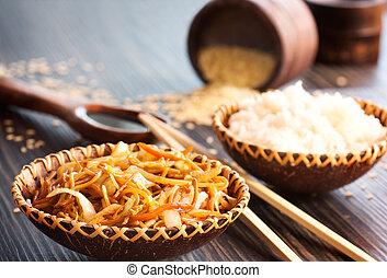 nourriture, chinois