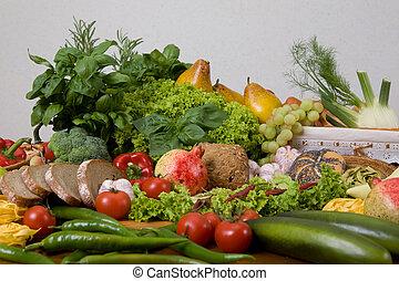 nourriture, composition