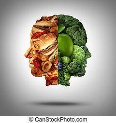 nourriture, concept
