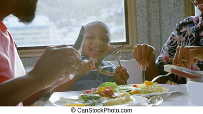 nourriture, confortable, 4k, avoir, maison famille, table,...