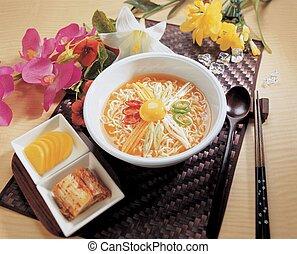 nourriture, coréen