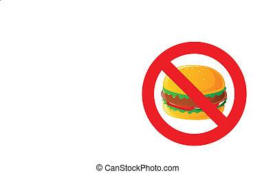 nourriture, danger, jeûne, étiquette