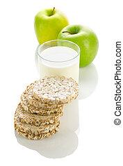 nourriture, diététique, composition