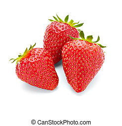 nourriture, fraise, fruit