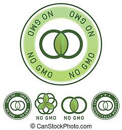 nourriture, génétique, non, modifié, étiquette