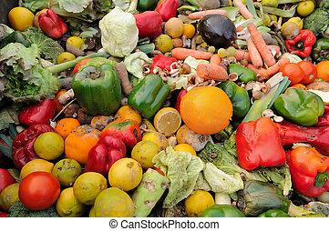nourriture, gaspillage