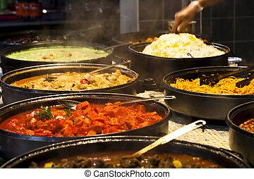 nourriture indienne
