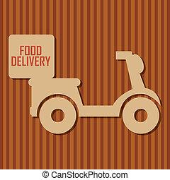 nourriture, livraison