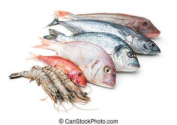 nourriture, mer