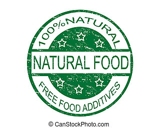nourriture, naturel, timbre