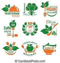 nourriture, nealthy, étiquette