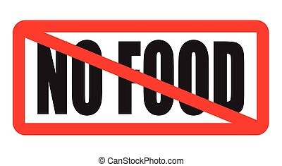nourriture, non