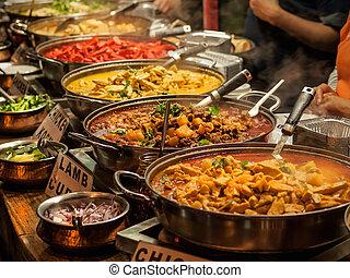 nourriture, oriental