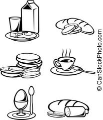 nourriture, petit déjeuner