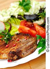 nourriture, plaque