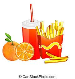 nourriture, products., jeûne