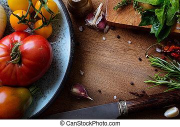 nourriture, recettes, art