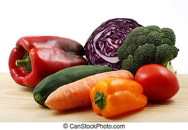 nourriture saine, groupe