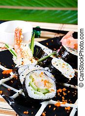 nourriture saine, japonaise