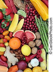 nourriture saine, régime