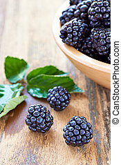 nourriture saine, ronce, fruit