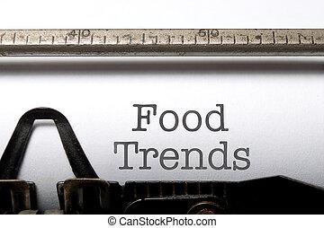 nourriture, tendances