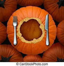 nourriture, thanksgiving