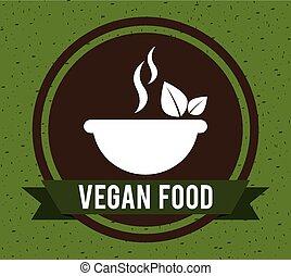 nourriture, vegan