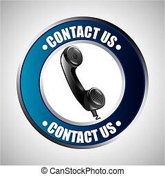 nous contacter, conception