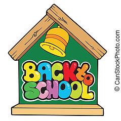 nouveau école, thème, 1