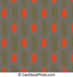 nouveau, arte decorativa, padrão, seamless, vetorial
