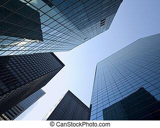 nouveau, bâtiments, york