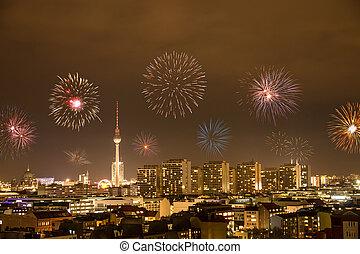 nouveau, berlin, veille, année