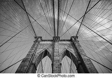 nouveau, brooklyn, york, pont