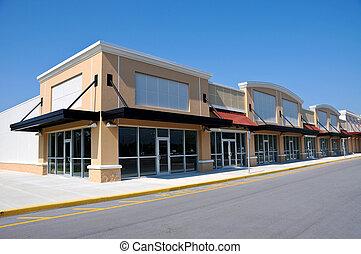 nouveau, centre commercial