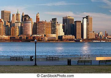 nouveau, city., york