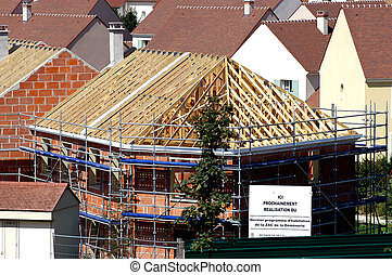 nouveau, construction, adjudication assignation